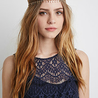 Leaf Fringe Head Chain
