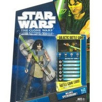 Star Wars Clone Wars Animated 2010 Figure Quinlan Vos #36