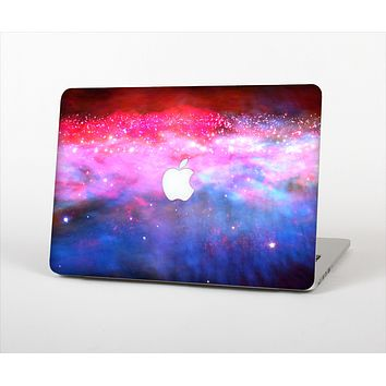 "The Vivid Pink and Blue Space Skin Set for the Apple MacBook Pro 15"" with Retina Display"