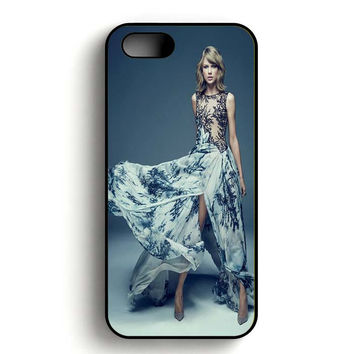 Taylor Swift Blue iPhone 5, iPhone 5s and iPhone 5S Gold case