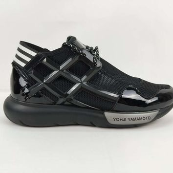 Adidas Y3 Y-3 QASA High  Black Basketball Shoes