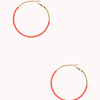 FOREVER 21 Standout Oversized Hoops
