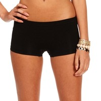 Black Basic Shorts