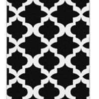 Carlisle College Rug - Black and White Dorm Products Cool Stuff For Dorms College Suppies