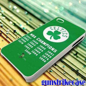 Boston Celtics 5 for iPhone, iPod, Samsung Galaxy, HTC One, Nexus **