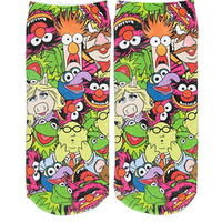 Muppets Graphic Ankle Socks