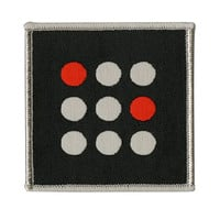 Twenty One Pilots Square Dots Iron-On Patch
