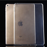 TGNN-PP:  Transparent TPU Back Case Cover Silicone For iPad Air 1 Air 2 Air 3 9.7'' Protective Shell Skin SNBB PZMM SAAA UERR DD