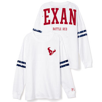 Houston Texans Bling Varsity Crew - PINK - Victoria's Secret
