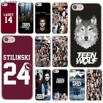 Lavaza teen wolf Stilinski 24  Lahey 11 Hard Cover Case for Apple iPhone 8 7 6 6S Plus 5 5S SE 5C 4 4S X 10 Coque Shell