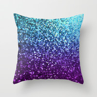 Mosaic Sparkley Texture G198 Throw Pillow by MedusArt