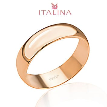 Sale Ring Italina Brand 3-12.5 Full Size Rose old Plated Jewelry Children Anel Masculino Men Women Engagement Rings Couple