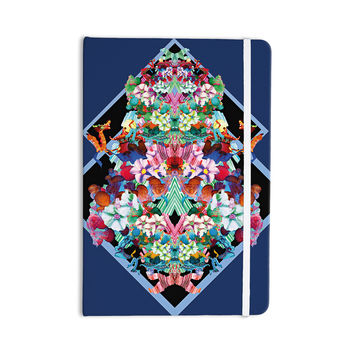 "Danii Pollehn ""Herz"" Blue Floral Everything Notebook"