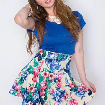 With You Skirt - Ivory