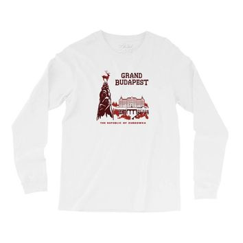 grand budapest hotel Long Sleeve Shirts