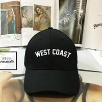 West Coast Dad hat - Baseball Cap, Tumblr hat , Dad Hat Dad Cap Baseball Hat Baseball Cap , Low-Profile Baseball Cap Hat