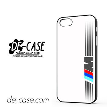 Bmw M Sport Logo DEAL-1981 Apple Phonecase Cover For Iphone 5 / Iphone 5S