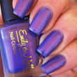"Nail polish - ""Split Personality"" pink/purple duochrome with flakies - new 12ml bottle"