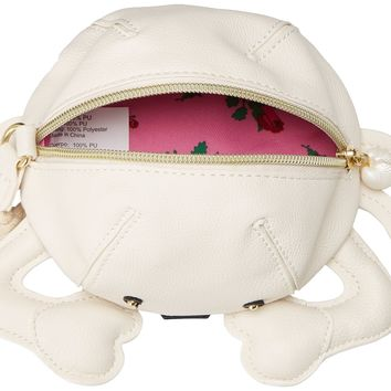 Betsey Johnson Crab Wristlet Clutch