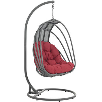 Whisk Outdoor Patio Swing Chair by Modway Furniture