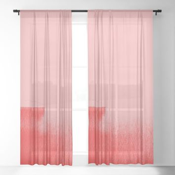 Dynamic Duo Sheer Curtain by duckyb
