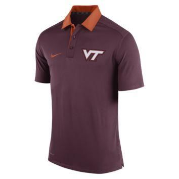 Nike Elite Coaches (Virginia Tech) Men's Polo Shirt