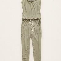 Aerie Women's Jumpsuit (Earthy Grey)