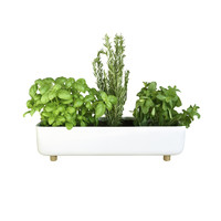 Blume Flowerpot White by Bellila