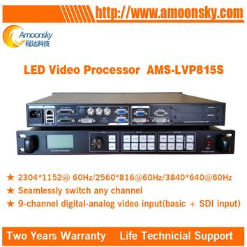 Hot Sale Competitive Price AMS-LVP815S Outdoor Advertising LED Display Screen 4k Processor LED Splicer