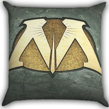 Harry Potter Ministry of Magic A0277 Zippered Pillows  Covers 16x16, 18x18, 20x20 Inches