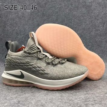 NIKE James 15 woven basketball shoes combat air cushion shoes F-AHXF