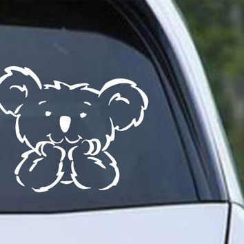 BABY KOALA BEAR Australia Outback Die Cut Vinyl Decal Sticker