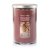 Autumn Wreath™ : Large 2-Wick Tumbler Candles : Yankee Candle