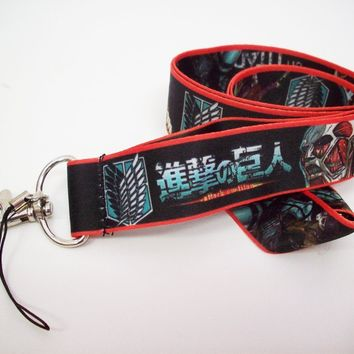 Mimiki Attack On Titan Lanyard