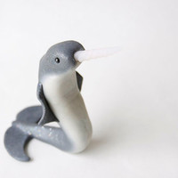 Narwhal Sculpture by Bonjour Poupette