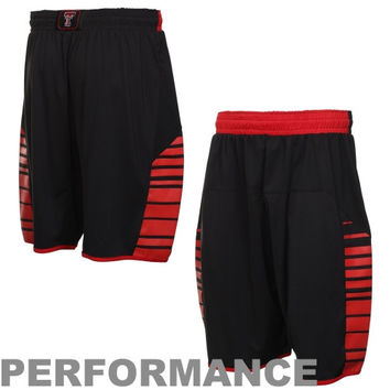 Under Armour Texas Tech Red Raiders Replica Performance Basketball Shorts - Black