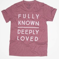 Fully Known Deeply Loved - Tee