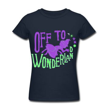 off_to_wonderland_prplgre T-Shirt | 1072505