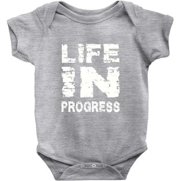 LIFE IN PROGRESS Baby Onesuit