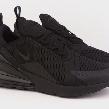 Nike Men Air Max 270 Triple Black