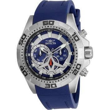 Invicta Men's 21736 Aviator Quartz Multifunction Blue Dial Watch