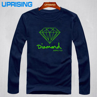 Diamond Supply Co. Long Sleeve Logo Shirt