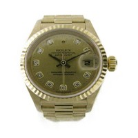 ROLEX Datejust Watch 69178 G Automatic Yellow gold K18YG (750) Yellow Gold