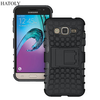 For Samsung Galaxy J3 Case J310 J310F Heavy Duty Armor Rubber Silicone Phone Cover For Samsung J3 Case For Samsung Galaxy J3 *<