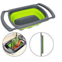 6 Quart Collapsible Over the Sink Colander