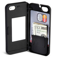 The iPhone 5 Polycarbonate Wallet - Hammacher Schlemmer
