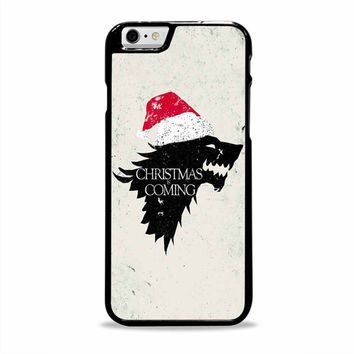 game of thrones winter is coming stark christmas movies Iphone 6 plus Cases