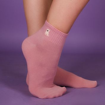 Bichon Ankle Sock