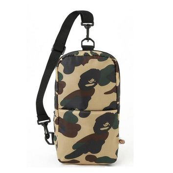 SUPREME New Sling Chest Bags Unisex Travel Bags nylon Backpacks Outdoor One Shoulder Cycling Bags Camouflage Crossbody Bag