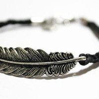 feather bracelet, -Christmas gift -  Best Chosen Gift